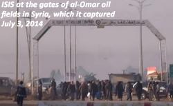 al-Omar oil fields in Syria