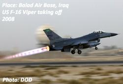 F16 Viper at Balad Air Base