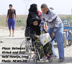 Between Hawija and Kirkuk, Iraq