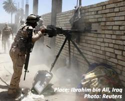 Ibrahim bin Ali, Iraq