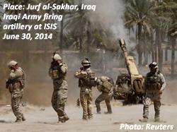 Jurf al-Sakhar, Iraq, June 30, 2014