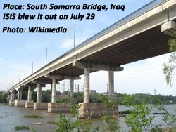 South Bridge over Tigris at Samarra, Iraq