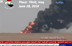 Heavy fighting around Tikrit, Iraq, between ISIS and the Iraqi Army June 28, 2014