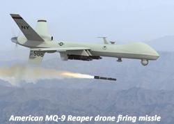 American predator drone