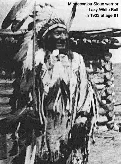 Minneconjou Sioux warrior White Bull later in life
