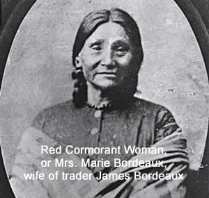 Red Cormorant Woman, or Mrs. Marie Bordeaux