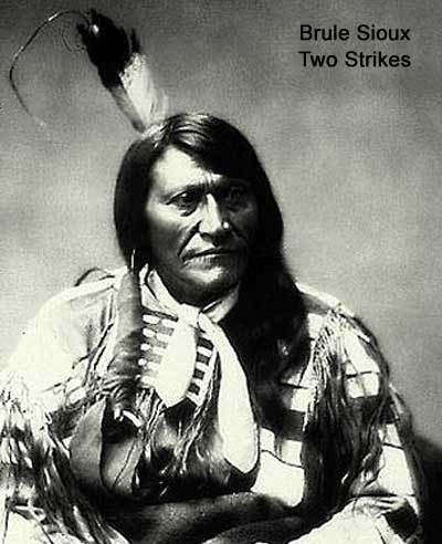 Brule Sioux Two Strikes
