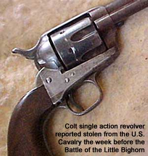 U.S. Cavalry 1874 Colt single-shot revolver