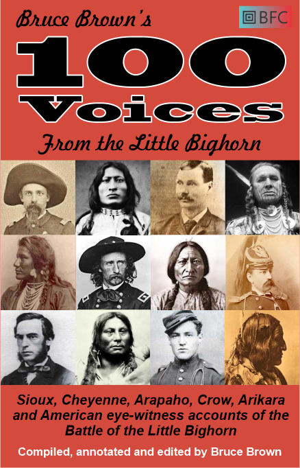 100 Voices from the Little Bighorn by Bruce Brown