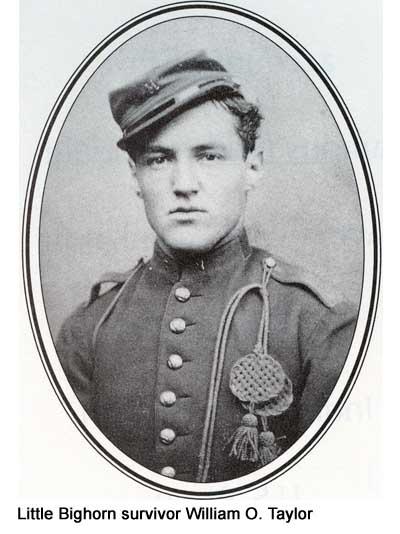 Little Bighorn survivor William O. Taylor.