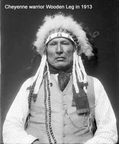 Cheyenne warrior Wooden Leg