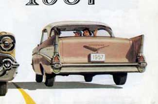 1957 Chevrolet brochure